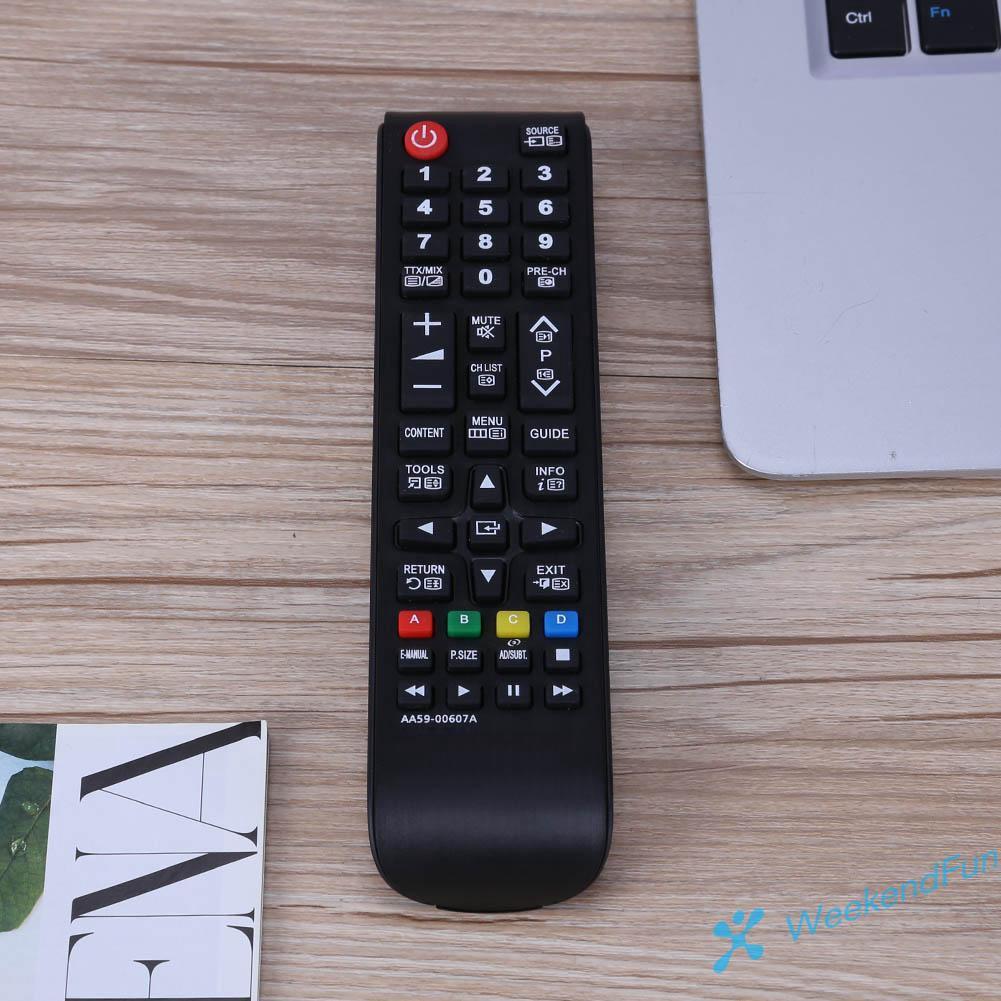 Thiết Bị Điều Khiển Từ Xa Thay Thế Cho Tv Thông Minh Samsung Aa59-00607A Aa59-602A 3d