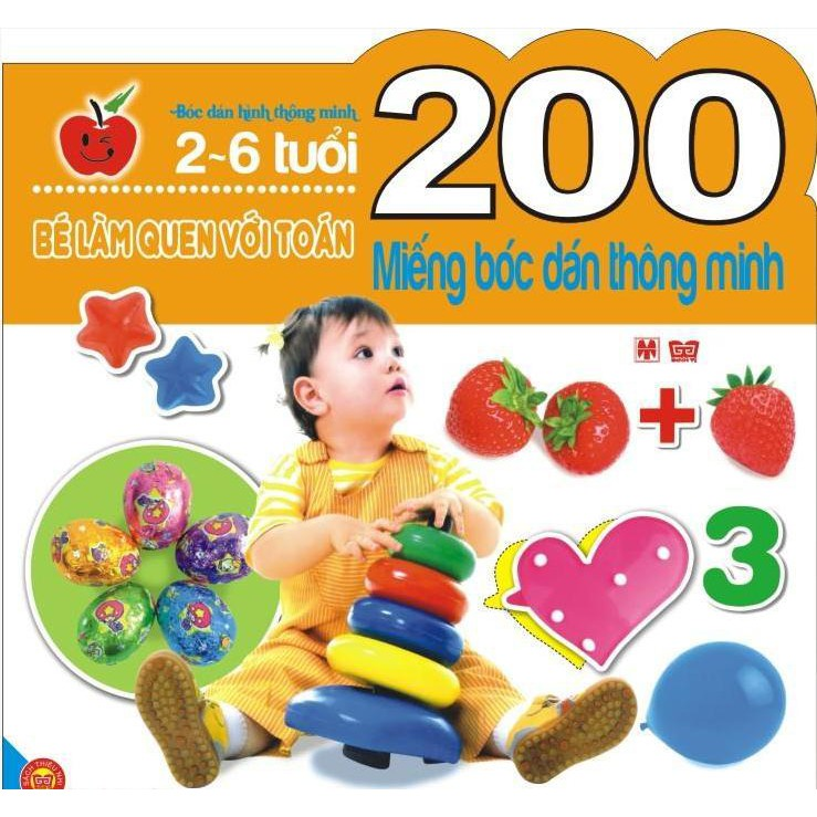 Bé làm quen với Toán (200 Miếng bóc dán thông minh 2-6 tuổi) - 2981793 , 626701204 , 322_626701204 , 46000 , Be-lam-quen-voi-Toan-200-Mieng-boc-dan-thong-minh-2-6-tuoi-322_626701204 , shopee.vn , Bé làm quen với Toán (200 Miếng bóc dán thông minh 2-6 tuổi)