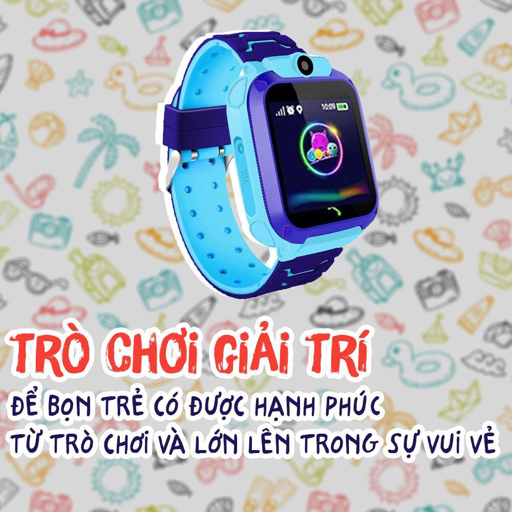 Đồng Hồ Thông Minh Trẻ Em Chống Nước - Định vị - Có Tiếng Việt A28