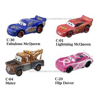 [Mã NOWSHIPVUI1 giảm 25k đơn 50k] Set gồm 4 xe đua nhân vật phim Cars – Disney – TOMICA VNXK Nhật