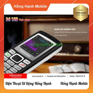 Hình ảnh Điện Thoại Masstel iZi 120 - Hàng Chính Hãng - Hồng Hạnh Mobile-6