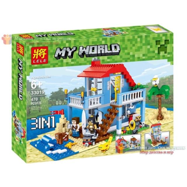 Lego my world 33019- Thành phố dã ngoại
