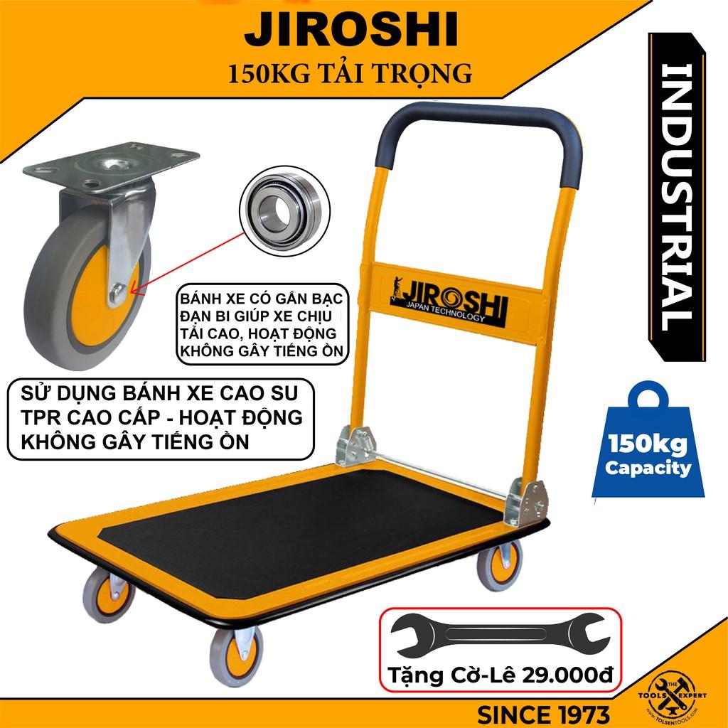 Xe Đẩy Hàng J.I.R.O.S.H.I Tải 150kg Gấp Gọn - Xe Kéo Hàng Gấp Gọn - Xe Đẩy Hàng Tay