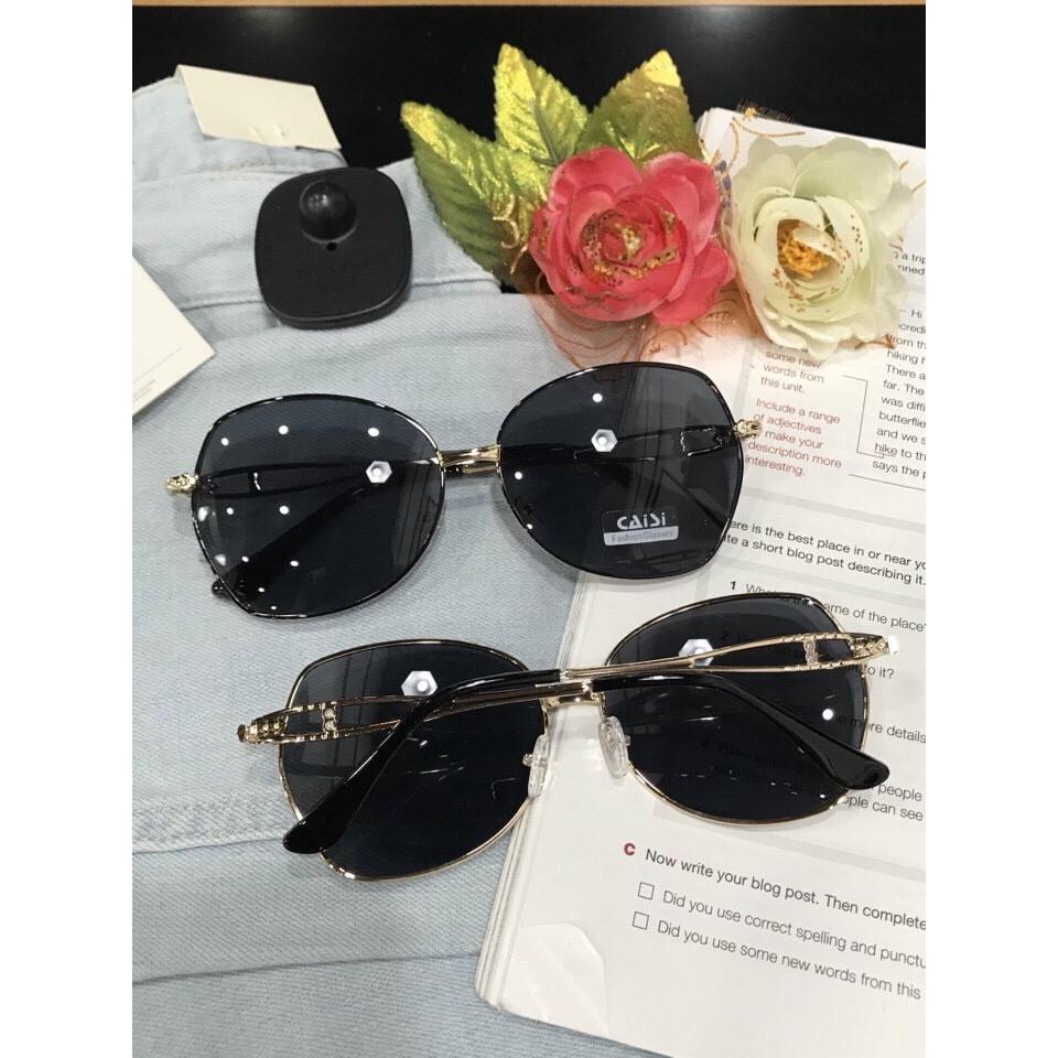 [Rẻ vô địch] MẮT KÍNH CAISI MẪU MỚI 2020 CỰC CHẤT AH203 mắt kính nữ mắt kính trong suốt