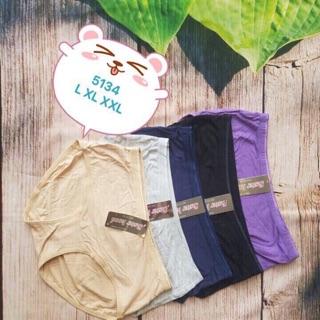 Quần lót nữ cotton bigsize Thái Lan Sisterhood 5134 cạp vừa vài trơn mềm mát thumbnail