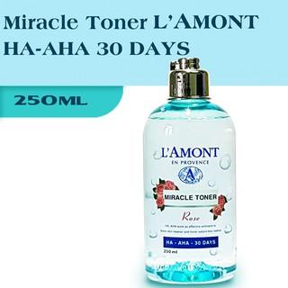 Nước Hoa Hồng LAmont Miracle Toner HA-AHA 30 DAYS 250ml thumbnail