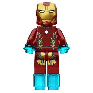 Minifigure LEGO – Nhân vật Người Sắt Iron Man – Mark 43