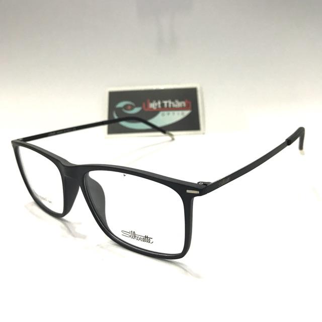 Gọng kính siêu nhẹ - kính tốt - mắt kính ( tặng hộp )