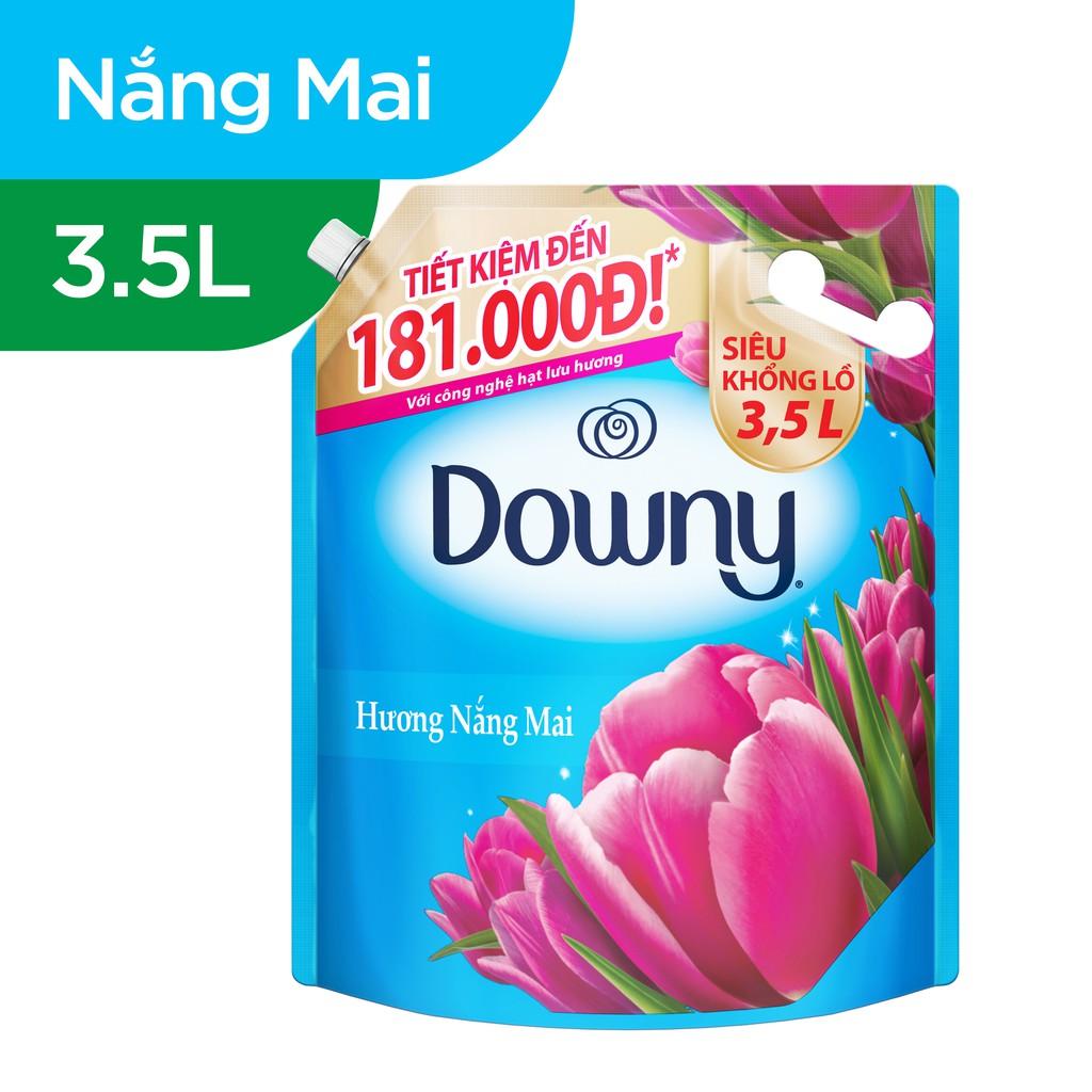 Nước xả vải Downy Hương Nước Hoa túi 3.5L (mới)