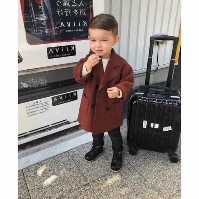 [ toàn quốc] Áo khoác dạ bé trai