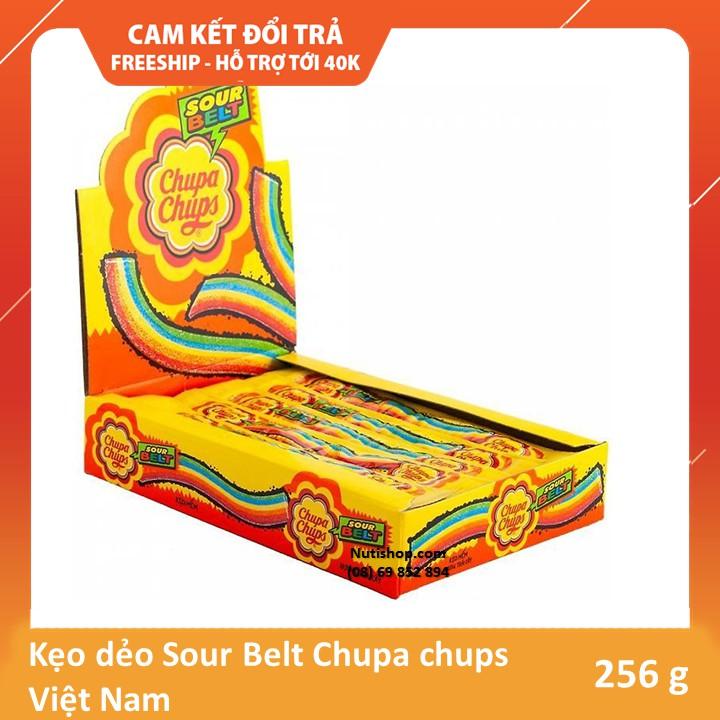 Kẹo dẻo Sour Belt Chupa chups Việt Nam 256 g