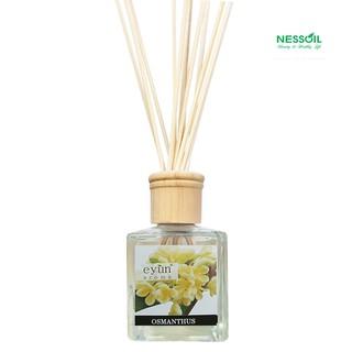 Bộ tinh dầu nước hoa thơm phòng hương Quế Hoa gồm 1 chai tinh dầu 150ml + 1 bộ 12 que mây khuếch tán tinh dầu thumbnail
