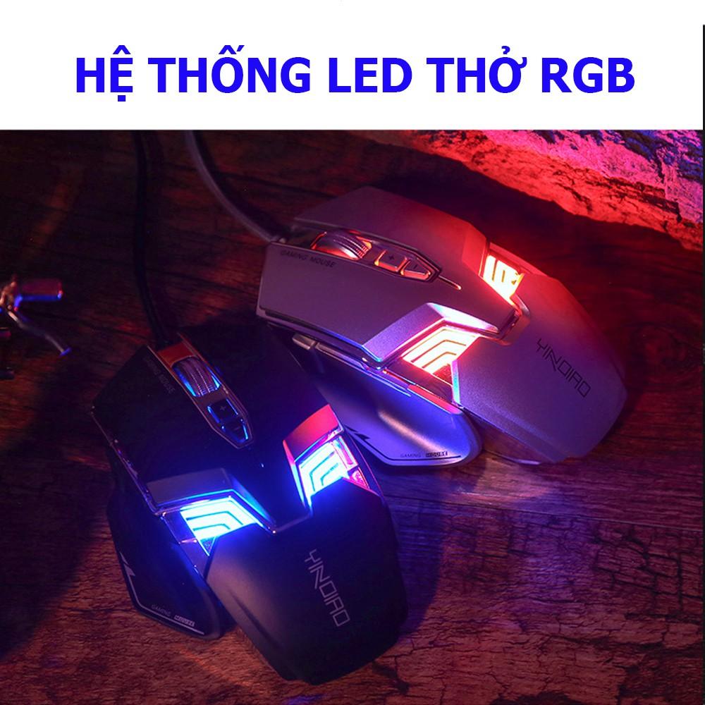 Chuột Gaming G403RS, chuột có dây cao cấp với 8 phím bấm, DPI lến đến 7200, Led RGB nhiều màu
