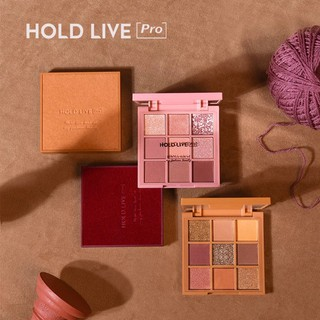HOLD LIVE -Bảng phấn mắt 9 màu Red Velvet Honey Eyeshadow tông hồng đào cam đào hot Tiktok Holdlive