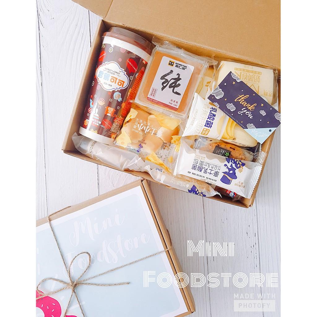 Box 15 Bánh Tươi Đài Loan + Trà Sữa Ngôn Tình
