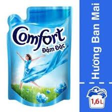 nước xả comfort đậm đạc ban mai 1.6 lít