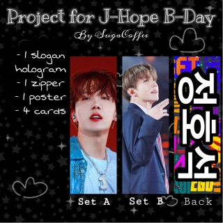 Slogan Fansite Jhope – Project bởi SugaCoffee