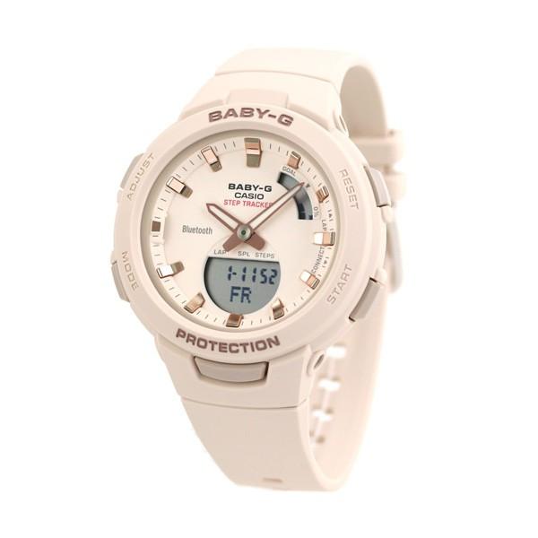Đồng hồ nữ dây nhựa Casio Baby-G chính hãng Anh Khuê BSA-B100-4A1DR