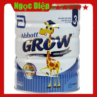 (CHÍNH HÃNG) Sữa bột Abbott Grow Hươu cao cổ 3 900g thumbnail