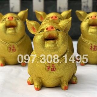 Lợn tiết kiệm phủ nhũ