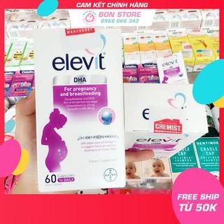 [TEM ĐỎ CHEMIST] Elevit DHA - Viên uống bổ sung Elevit DHA for Pregnancy and Breastfeeding 60 viên (DATE 11 2021) thumbnail