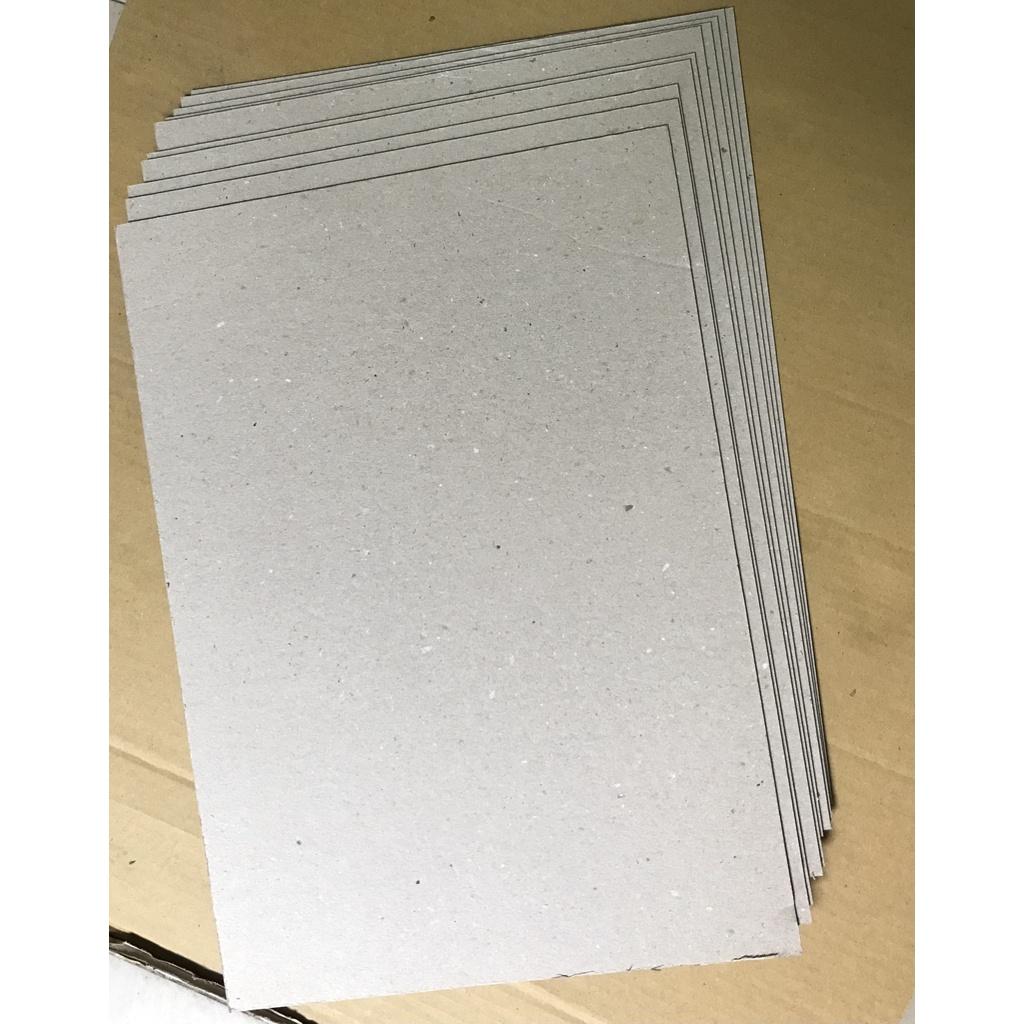 10 tấm Carton lạnh khổ A3 - Bìa cứng - Giây bồi - Làm bìa sổ tay - Bìa Kraf 3 lớp (dày 2.0mm)