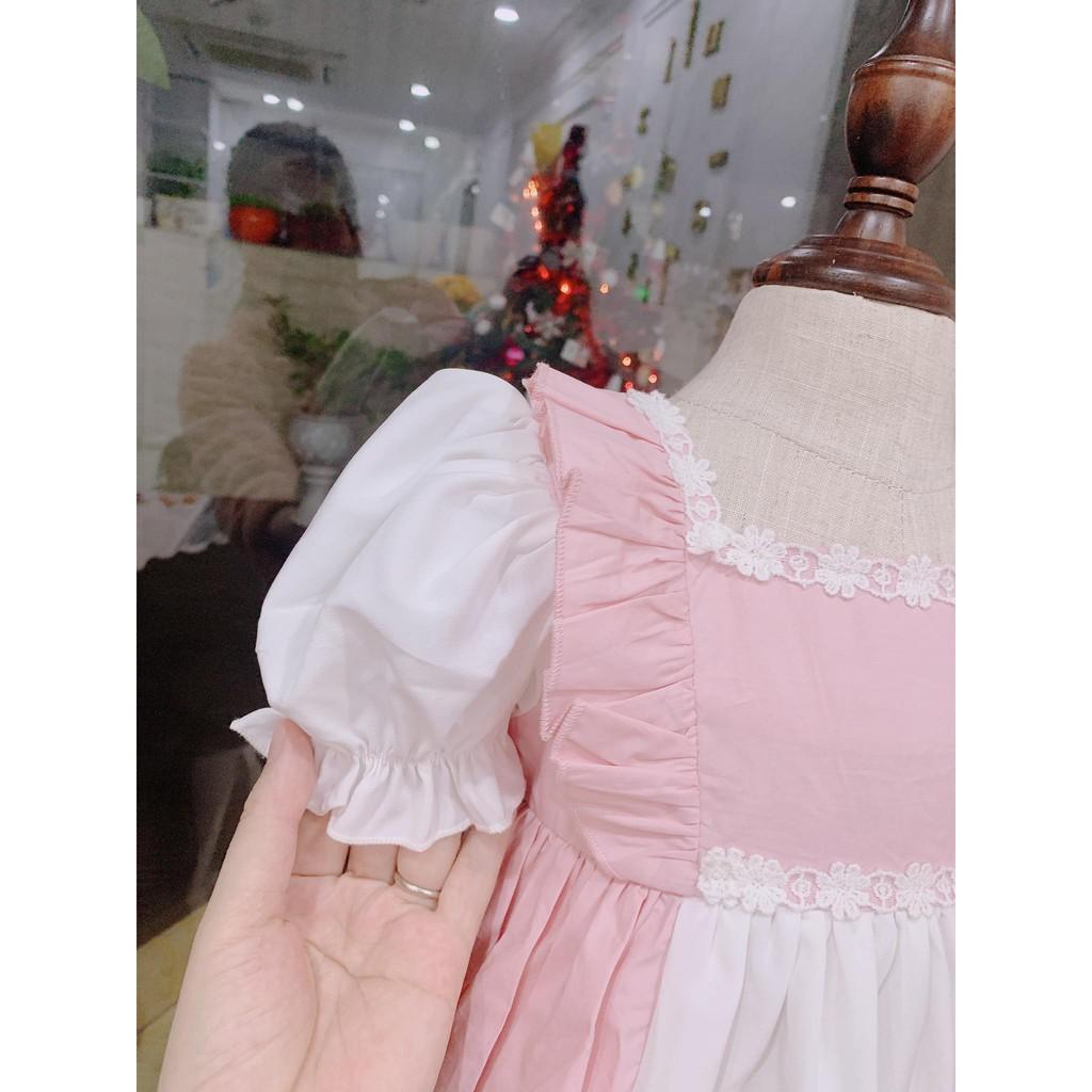 Đầm công chúa cho bé ❤️FREESHIP +TẶNG TB)❤️ - NHƯ Ý HOUSE'S -váy TRẺ EM THIẾT KẾ - LOLITA HỒNG
