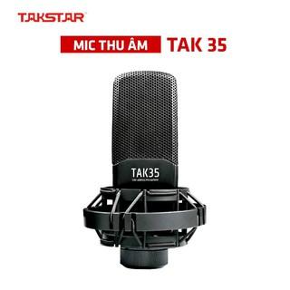 【Chính hãng】Micro thu âm TAKSTAR TAK35 hát karaoke, livestream, bán hàng, thu âm, BẢO HÀNH 12 THÁNG