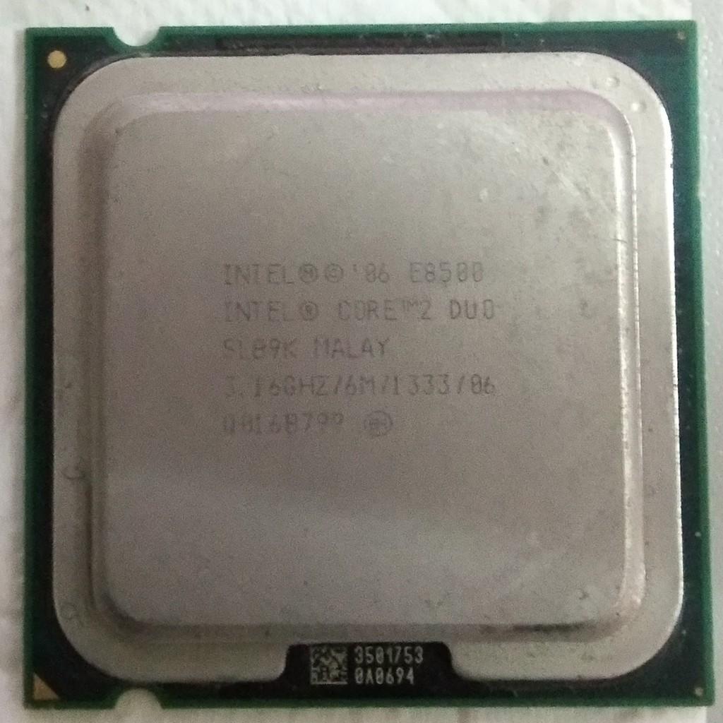 CPU E8500 socket 775 [ tặng gói tản nhiệt nhỏ ] Giá chỉ 100.000₫