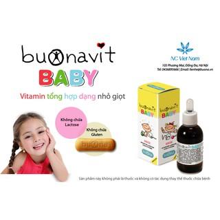 Vitamin tổng hợp nhỏ giọt Buonavit Baby thumbnail