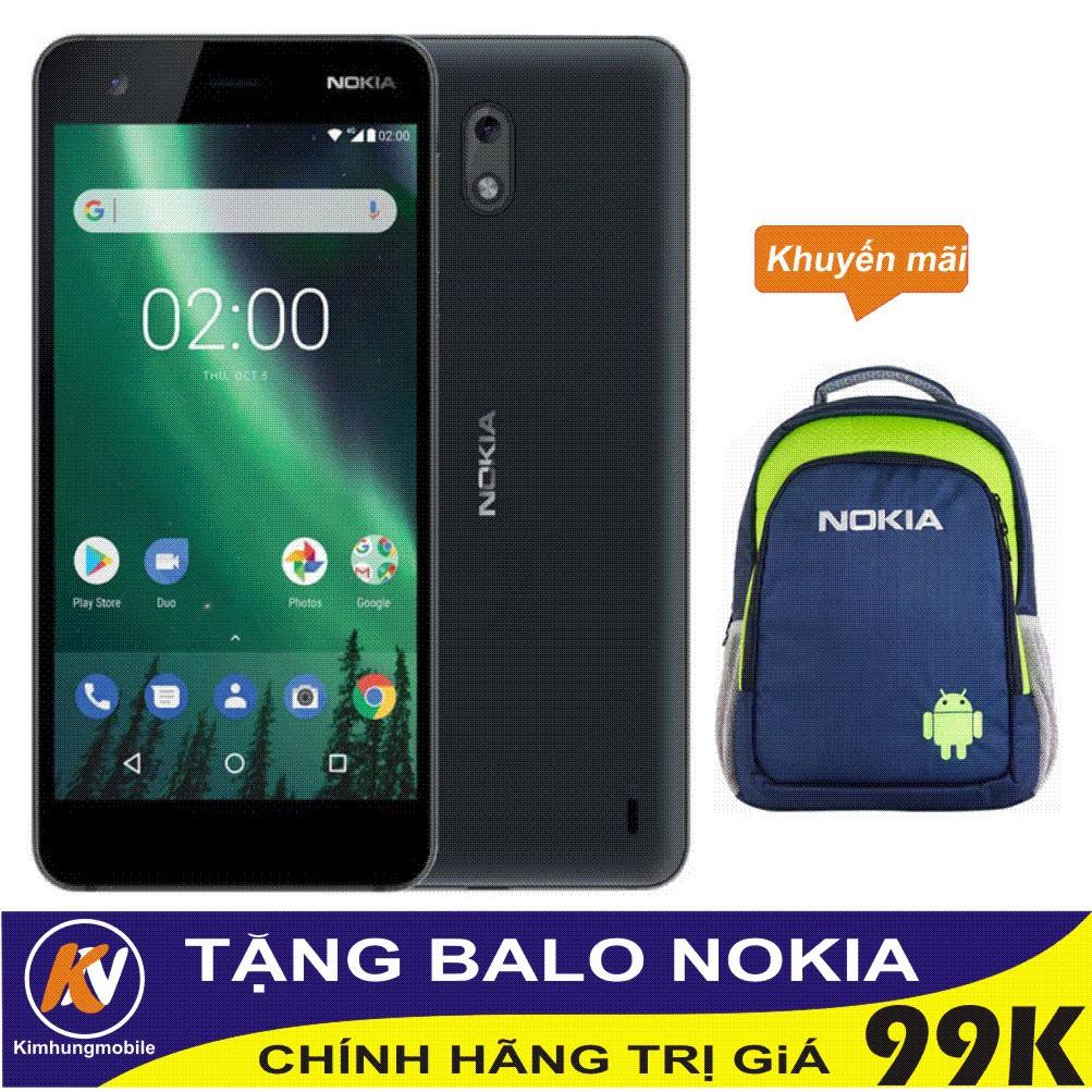Combo Điện thoại Nokia 2 8GB - Hàng phân phối chính hãng + Balo Nokia cao cấp - 3368980 , 932558717 , 322_932558717 , 2800000 , Combo-Dien-thoai-Nokia-2-8GB-Hang-phan-phoi-chinh-hang-Balo-Nokia-cao-cap-322_932558717 , shopee.vn , Combo Điện thoại Nokia 2 8GB - Hàng phân phối chính hãng + Balo Nokia cao cấp