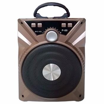 [Tặng Micro] Loa Karaoke Bluetooth P88 89 - BH 3 tháng