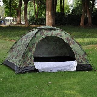 Lều cắm trại, lều du lịch 2-3 người rằn ri – KT 2×1,5m