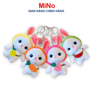 Móc Khoá Gấu Bông Chuột Hamster Đáng Yêu MINO STORE thumbnail