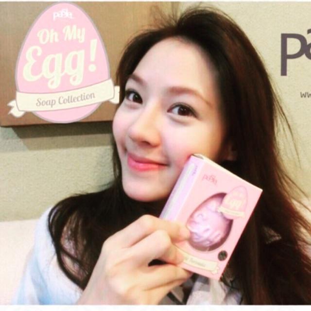 Xà Bông Trị Mụn mặt và body Pasjel Oh My Egg Thái Lan