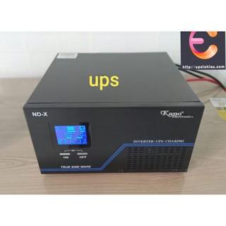 UPS 1500va Sạc Acquy Kích Điện 12v ra 220v Sin Chuẩn_ Tô Hiệu