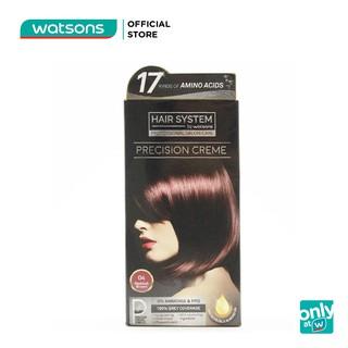Thuốc Nhuộm Tóc Hair System By Watsons Professional Salon Precision 60ml+60ml+10ml .#04Reddish Brown