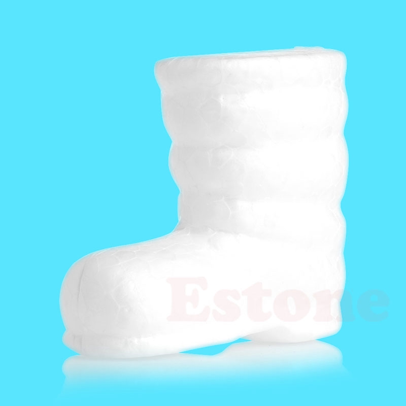 Foam Boot Modeling Polystyrene Styrofoam Foam Ball Xmas Craft Decoration DIY