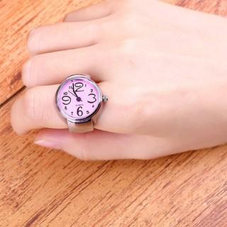 Nhẫn hình đồng hồ dễ thương