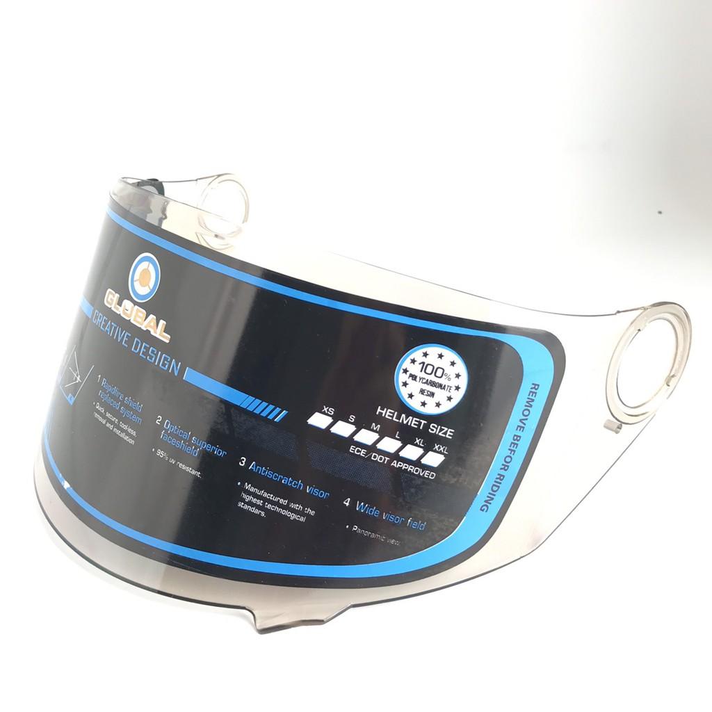 Kính rời dành cho mũ BKtec - BK31 - Kính mầu trà