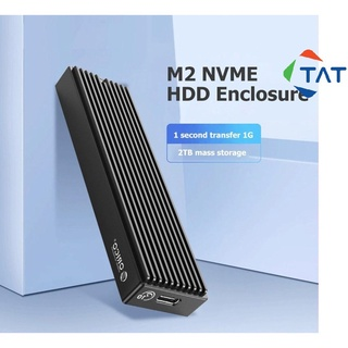 Box Ổ Cứng SSD M.2 NVMe PCIe ORICO M2PV-C3 Chuẩn USB 3.1 Type-C - Biến SSD M2 NVMe thành ổ cứng di động thumbnail