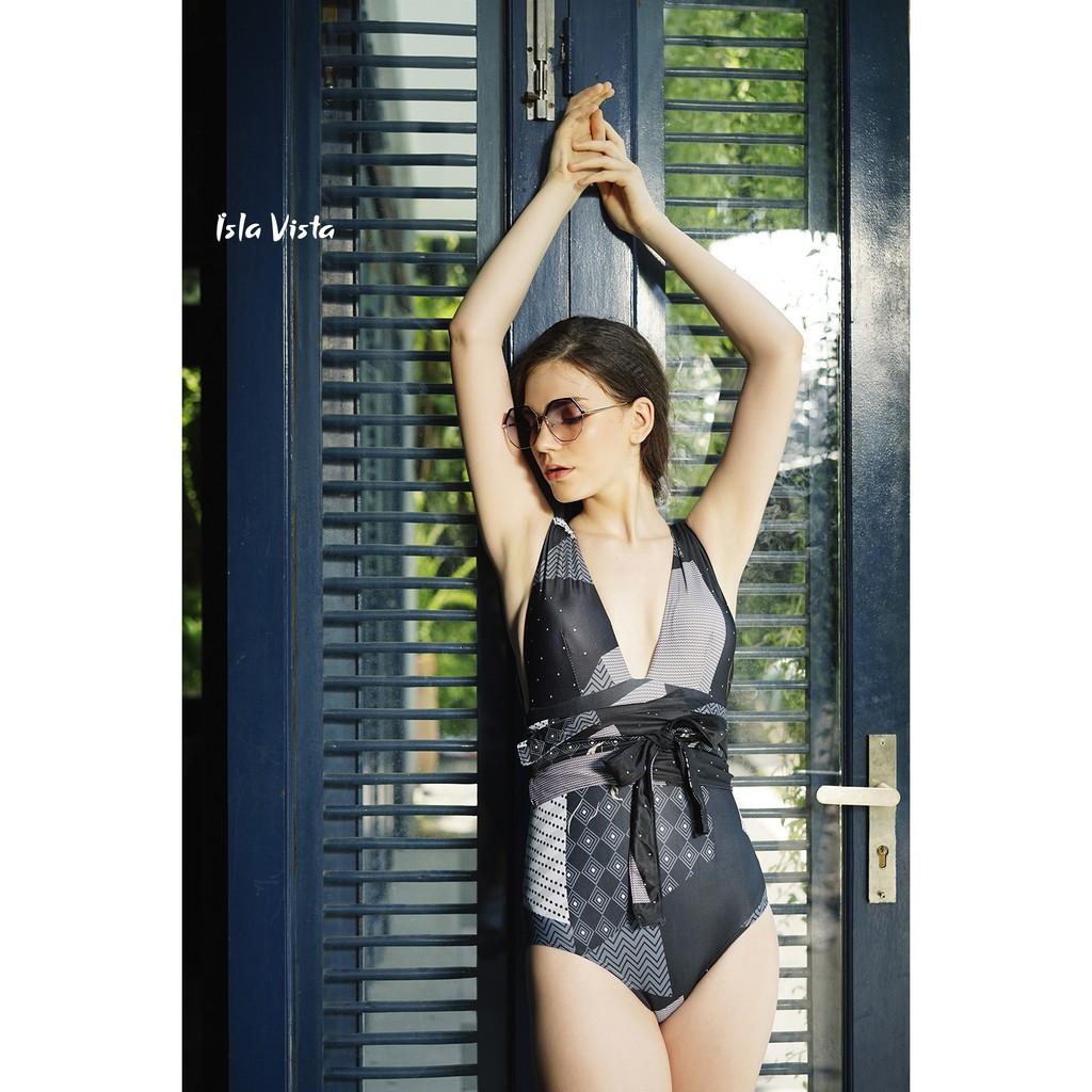 [Mã WABR44H giảm 15% đơn 599K] Đồ bơi monokini cổ xẻ chữ V Isla Vista IVWM011
