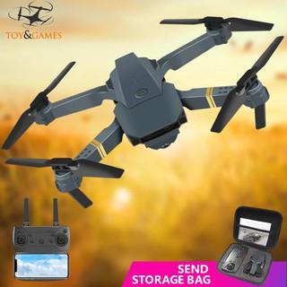 {Thanh ly) Flycam điều khiển từ xa 2MP e58 kèm camera góc rộng chất lượng cao kèm phụ kiện