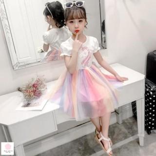 Váy bé gái 2 tuổi (1 - 6 tuổi) Thoi trang be gái 4 tuoi đầm đẹp cho bé gái 5 tuổi váy cho bé gái size đại 30kg thumbnail