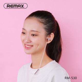 Tai nghe remax RM-530 dòng tai Hifi chất lượng cao- Tai nghe có mic dong tai nghe dây siêu chất chính hãng