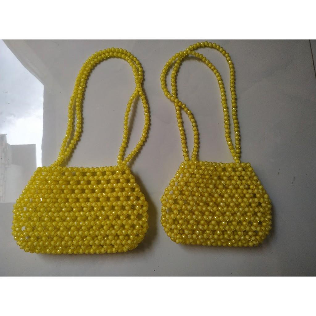 Túi xách ngọc trai giả - Túi xách nữ handmade cực xinh cho nàng