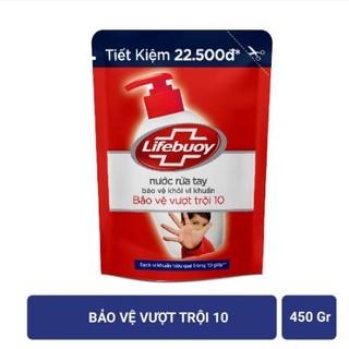 Nước rửa tay Lifebuoy túi 450g