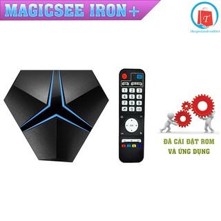 Android Tivi Box Magicsee Iron+ Ram 3GB- Rom 32GB - Chíp Siêu Khủng Amlogic S912 - Bảo Hành 1 Năm