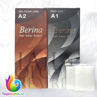 Thuốc nhuộm tóc Berina A1,A2 Thái Lan