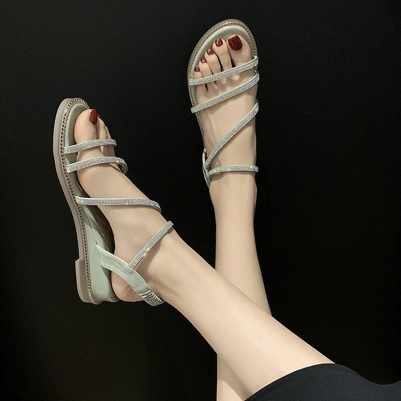 Giày Xăng Đan Nữ Đế Dày Thời Trang Hàn 2020